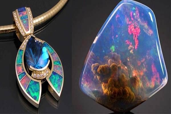nen mua đá opal khi du lịch úc